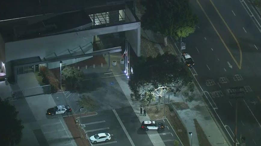 LAPD officer injured in shooting at Harbor Station