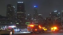 Hit-and-run driver kills freeway worker in downtown Los Angeles