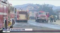 Blue Ridge Fire in Yorba Linda