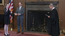 Barrett officially sworn in as Supreme Court justice as John Roberts administers oath in private ceremony