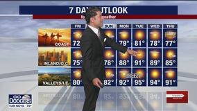 Weather Forecast: Thursday, Oct. 8