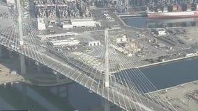 Reconstructed Gerald Desmond Bridge in Long Beach set to open
