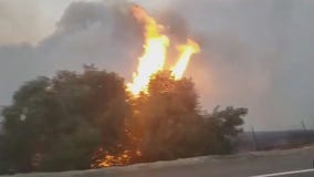 Silverado Fire ignites in Orange County