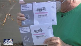 Multiple mail-in ballots sent to LA County voters, raising concerns