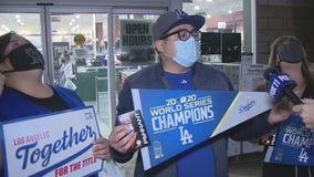 Fans flock for World Series merchandise