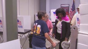 Computer issues blamed for long lines at a Riverside County voting site