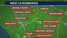 Armed robber targeting walkers, joggers in West LA