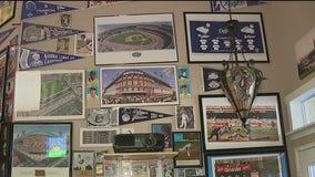 Los Angeles Dodgers superfan shares massive memorabilia collection