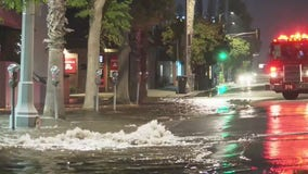 Water main break shuts down portion of Ventura Boulevard