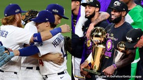LA sports fans reflect on the city's two championships