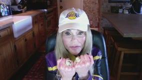 Lakers superfan Dyan Cannon talks championship #17