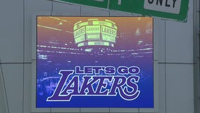 Health officials urge fans to celebrate at home if Lakers win NBA title