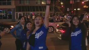 DTLA celebrates Dodgers World Series win