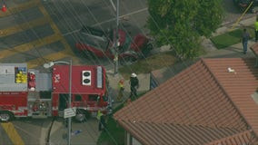 Fire truck involved in crash while responding to 911 call; 2 firefighters, 1 civilian transported