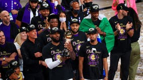 Lakers win NBA Finals for first time in 10 years in season honoring Kobe Bryant