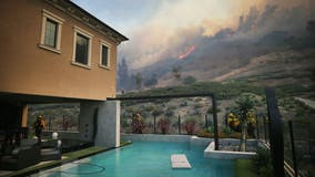 Silverado Fire: Mandatory evacuations lifted for all Irvine residents, 2 firefighters hurt