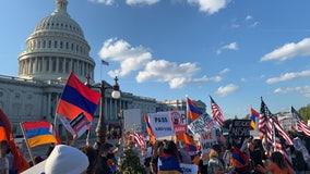 LA man travels to Washington DC to protest, demand sanctions on Turkey and Azerbaijan