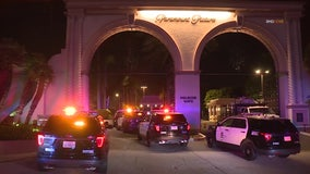 Officers shoot at alleged sexual assault suspect at Paramount Studios