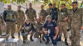 On the frontlines: British journalist, filmmaker documents war in Artsakh