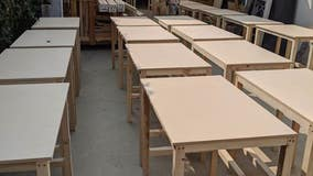 How one man is helping home schooled kids deal with a COVID-19 desk shortage