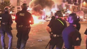 Dodgers World Series win takes violent turn in DTLA with looting, vandalism