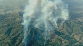 Wind-driven Silverado Fire threatens homes in Orange County