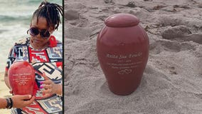 Burbank Police ask for public's help locating stolen urn containing victim's mother's ashes