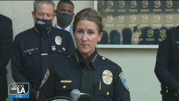 Santa Monica police chief resigns after more than 60,000 called for her removal following looting