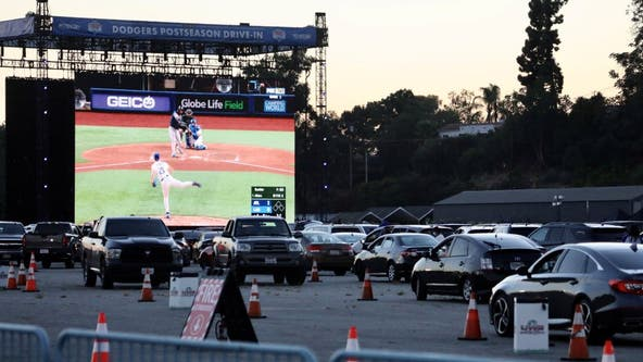 Dodgers Stadium hosting drive-in viewing party for World Series