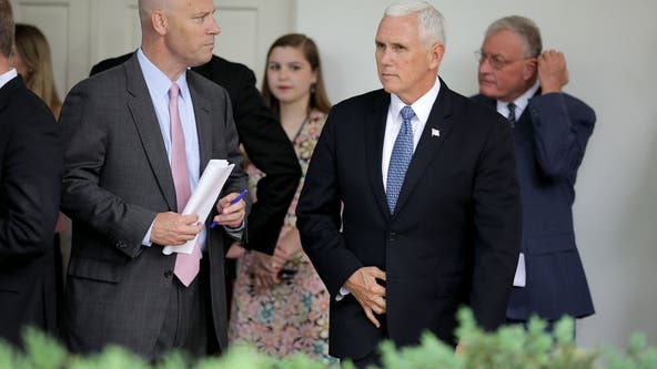 Vice President Pence's top aide tests positive for coronavirus