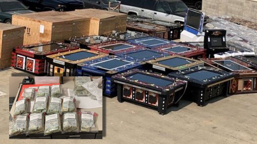 30 arrested, over 200 illegal gambling machines seized in Lancaster