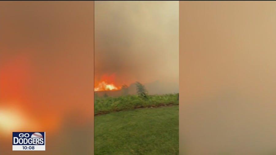 Neighbors from tight-knit Yorba Linda community help fire crews battle Blue Ridge Fire