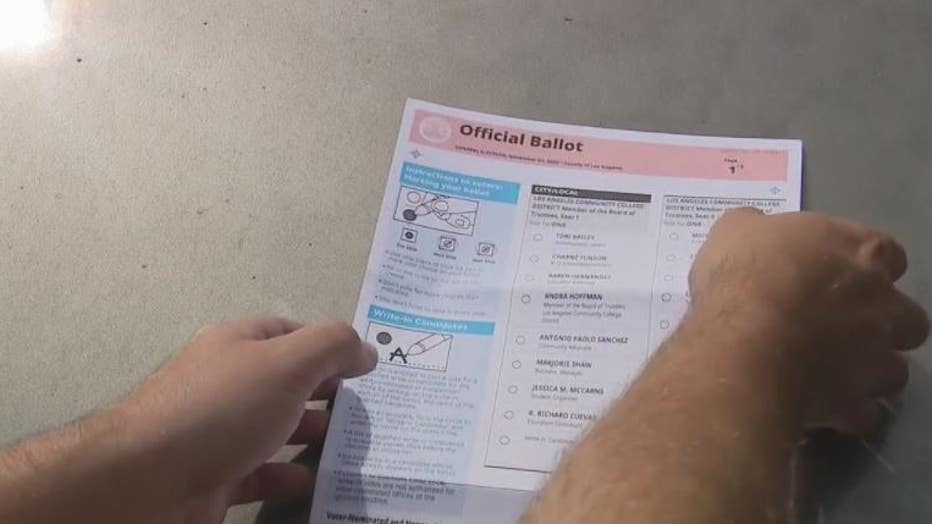 La County Registrar Addresses Issues Seen On Some Ballots