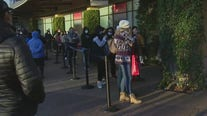 Black Friday shoppers brave the cold at Citadel Outlets in Commerce