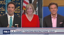 Supervisor Janice Hahn Talks with FOX 11's Elex Michaelson and Guest Host Dr. Mehmet Oz