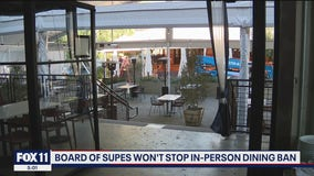 LA County leaders to uphold in-person dining ban