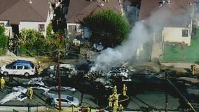 Pilot killed after small plane crashes near Whiteman Airport in Pacoima