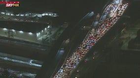 Fatal collision on northbound 101 Freeway snarls traffic in DTLA