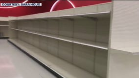 Panic buying returning in LA as shoppers roll their eyes at empty toilet paper aisles