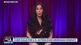 Cher calling on U.S. to take action over the war in Armenia in new PSA