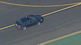 Driver arrested after police pursuit at Van Nuys Airport