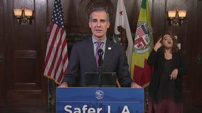 2 arrested at protest demanding Eric Garcetti to be excluded from Biden cabinet