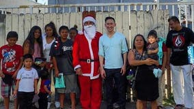 Holiday Heroes: 'The Hood Santa' marks 10th year of serving community