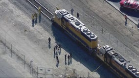 Person struck and killed by freight train in Sun Valley area