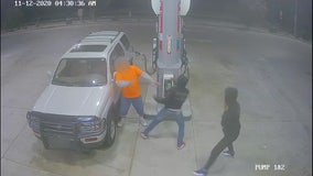 VIDEO: 67-year-old man assaulted, carjacked at Victorville gas station