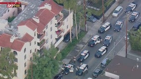 Reported homeless man leads police on chase through West LA