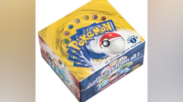 Unopened, first-edition Pokémon card set shatters bid records, selling for $360K at auction