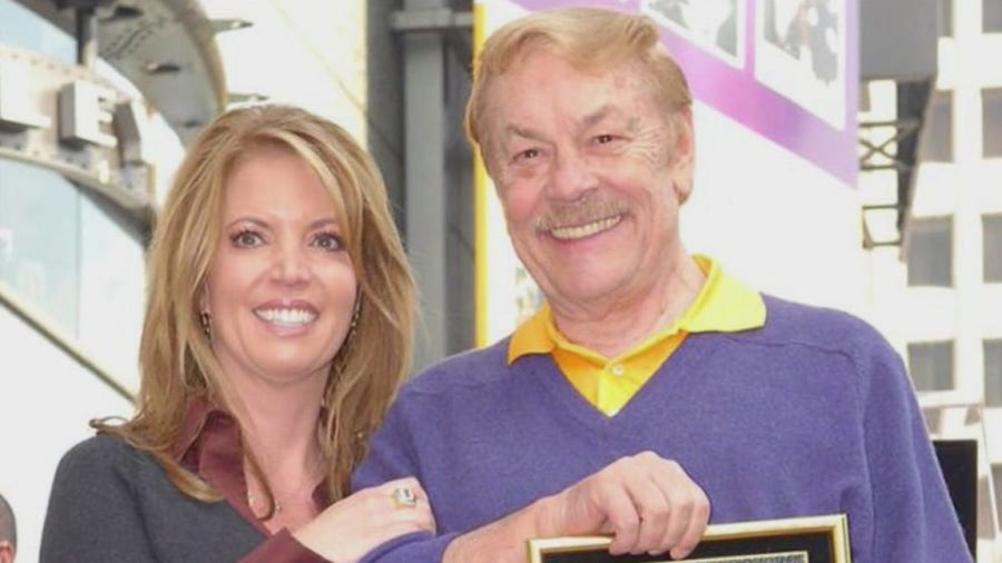 Lakers owner Jeanie Buss on winning NBA title for late father