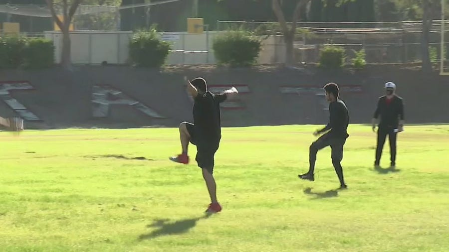 LAUSD teams return for conditioning workouts