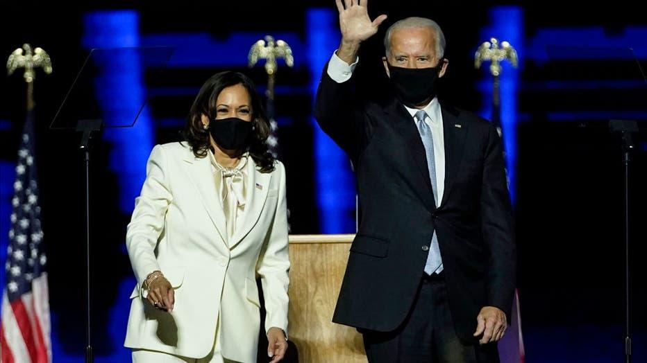 This is the time to heal': President-elect Joe Biden, VP-elect Kamala Harris address nation